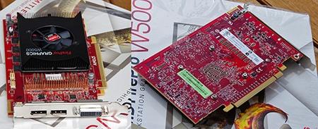 AMD FirePro W5000 - II